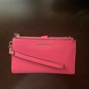 Michael Kors Double Zip Wallet/Phone Case